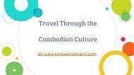 Travel Through the Cambodian Culture