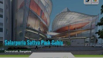Salarpuria Sattva Park Cubix