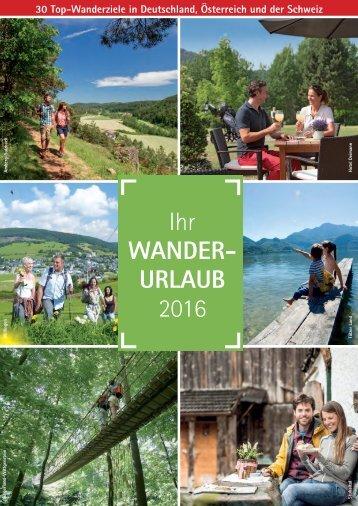 Wanderurlaub 2016