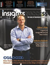 Insights Success The 10 Fastest Growing Data Center Solution Provider companies