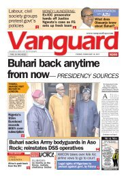 10022017 - Buhari back anytime from now: PRESIDENCY SOURCES