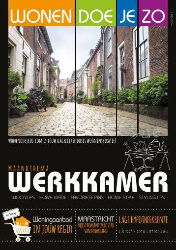 WonenDoeJeZo Zuid-West Nederland, #maart 2017