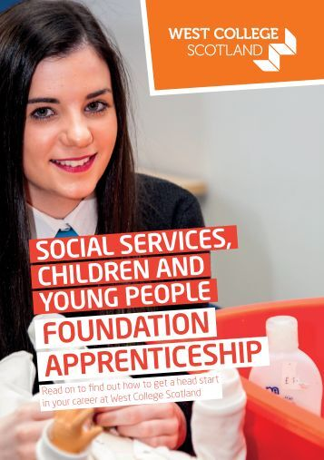 Foundation Apprenticeships - Social Services Children and Young People