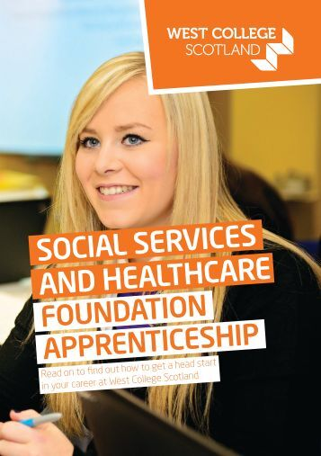 Foundation Apprenticeships - Social Services and Healthcare