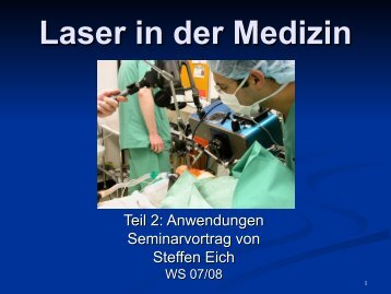 Laser in der Medizin