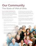 Caring for Our Communities - VNA of Ohio Community Report 2016 - Page 6