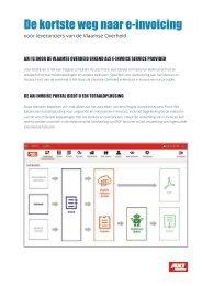 De kortste weg naar e-invoicing