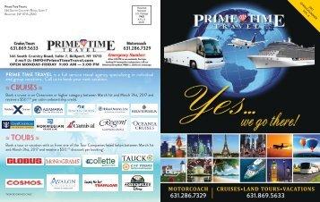 Prime Time Travel Spring_Summer 2017 Vol 6