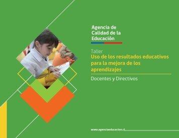 Uso de los resultados educativos para la mejora de los aprendizajes