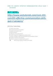 COM 101 Week 3 Assignment Personal Communication Skills Assessment
