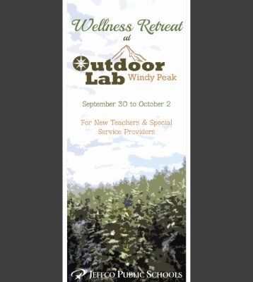 Wellness Retreat at Windy Peak Outdoor Lab