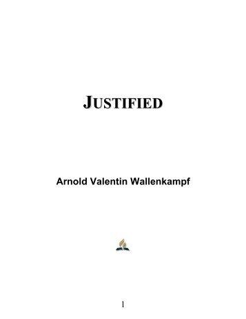 Justified - Arnold Valentin Wallenkampf