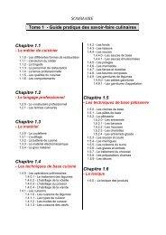 CAP de cuisine - Tome 1 et 2 - PDF Archive
