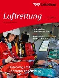Unterwegs mit Christoph Regensburg - DRF Luftrettung