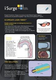 Scopesafe™ Holmium Laser Fibres - Hospital Innovations