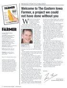 Eastern Iowa Farmer Spring 2016 - Page 6