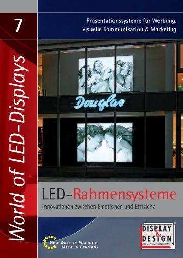 LED-Rahmen - Display & Design Helmut Amelung GmbH