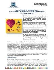 """14 DE FEBRERO MATRIMONIOS Y DIVORCIOS EN MÉXICO"""" DATOS NACIONALES"""
