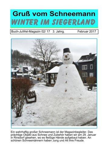 Schneemann-Magazin: Siegerland