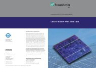 Laser in der Photovoltaik [ PDF 0,24 MB - Ultrakurzpulslaser