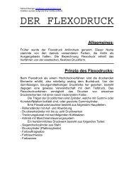 DER FLEXODRUCK - Kunst und Kunstunterricht
