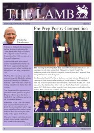 Pre-Prep Poetry Competition