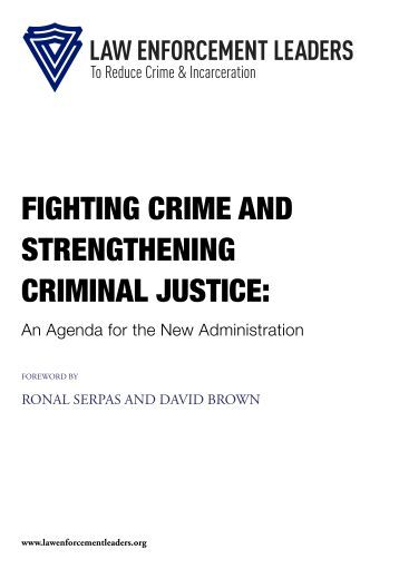 FIGHTING CRIME AND STRENGTHENING CRIMINAL JUSTICE