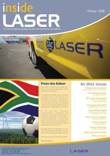 Inside Laser - The Laser Group