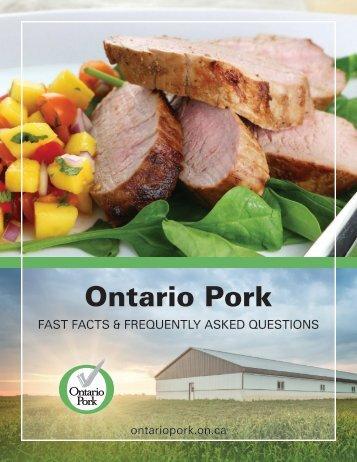 Ontario Pork