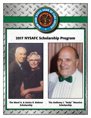 2017 NYSAFC Scholarship Program