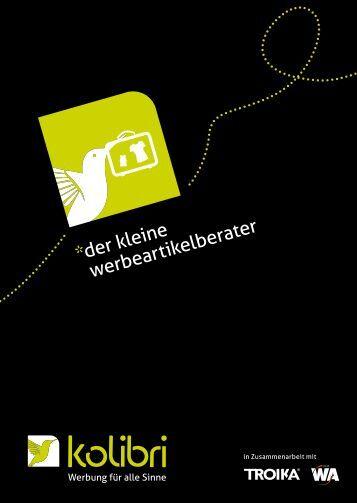 mit gelassenheit zum erfolg - kolibri GmbH
