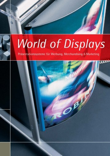 World of Displays - GRAPHICline Berlin