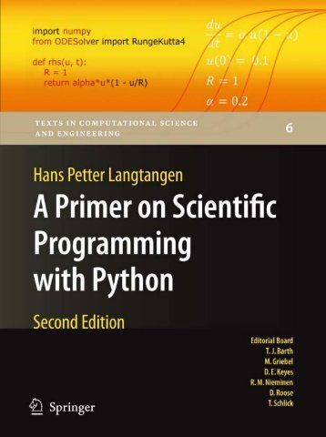A Primer on Scientific Programming with Python, 2nd ... - CodingCat