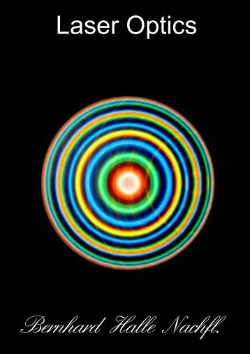 Bernhard Halle Nachfl. Laser Optics