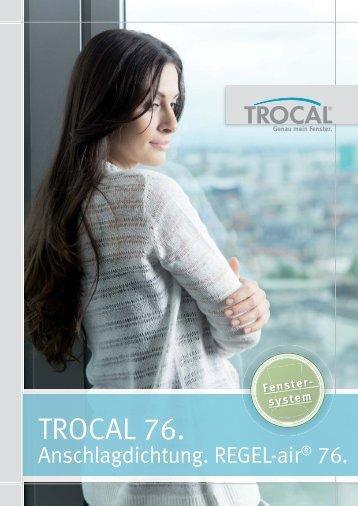 TROCAL 76 Anschlagdichtung REGEL-air 76