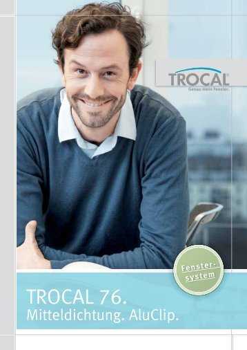 TROCAL 76 Mitteldichtung AluClip