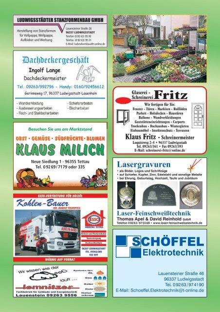 "Gasthaus ""Am Trogenbach"" - Ludwigsstadt"