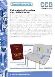 Ausweisdokumente Elektronische Reisepässe nach ... - CCD Card