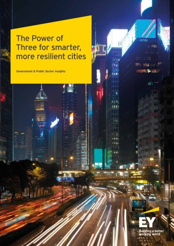 The Power of Three for smarter more resilient cities