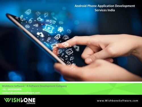 Android Phone Application Development Services India