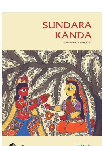 Sundara Kanda Hanuman's Odysey