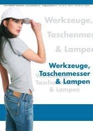 Werkzeuge, Taschenmesser & Lampen - LOGO-KONZEPT ...
