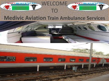 Train Ambulance Services in Varanasi and Allahabad