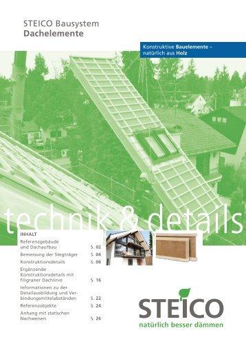STEICO Bausystem Dachelemente