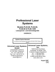 Professional Laser Systems