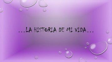 LA HISTORIA DE MI VIDA DANI
