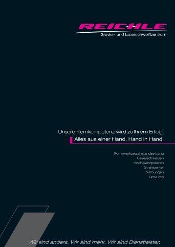 Strahlcenter & Newsletter 2011/2 - Reichle GmbH Gravier- und ...