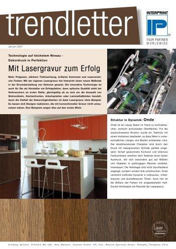 Mit Lasergravur zum Erfolg - Interprint