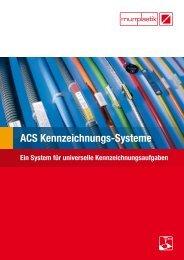 ACS Kennzeichnungs-Systeme - Murrplastik Systemtechnik