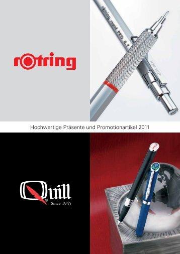 Hochwertige Präsente und Promotionartikel 2011